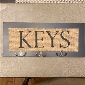 Key Holder/Hooks for Wall